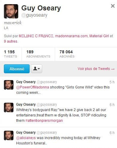 girls gone wild tweet Le Clip de Girls Gone Wild, Madonna World Tour...Actualisé