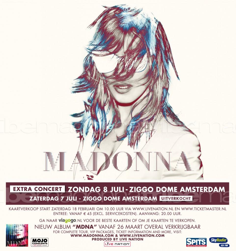 madonan world tour amsterdam 2