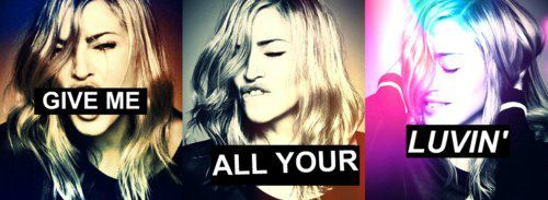 madonna give me all your luvin cover 7 En Ecoute : Give Me All Your Luvin, Les Remixes Officiels !