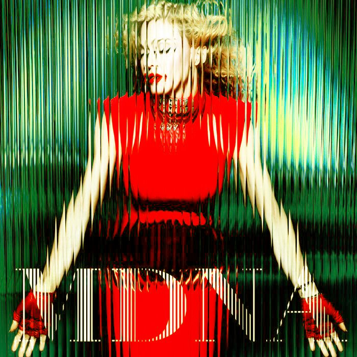 madonna mdna cover green En Ecoute : Give Me All Your Luvin, Les Remixes Officiels !