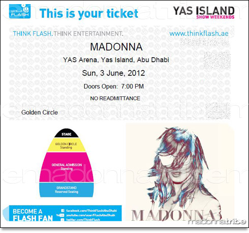 madonna world tour abu-dahbi