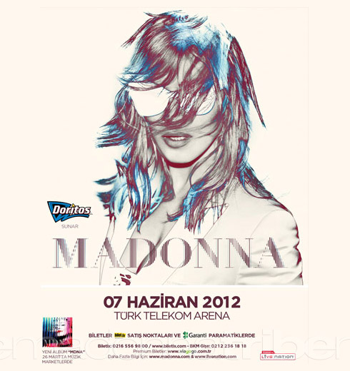 madonna world tour istanbul 002 News : Tournée 2012 : Répétitions et Dates, Super Bowl, Give Me All your Luvin, Whitney...