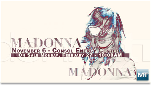 madonna world tour pittsburgh