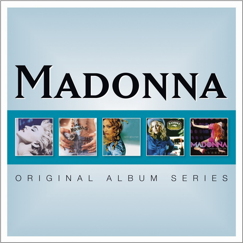 Les Coffrets Madonna Sign 233 S Warner Music
