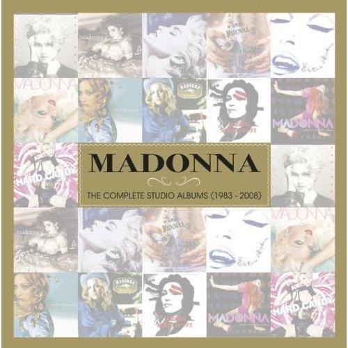 madonna complete studio box warner