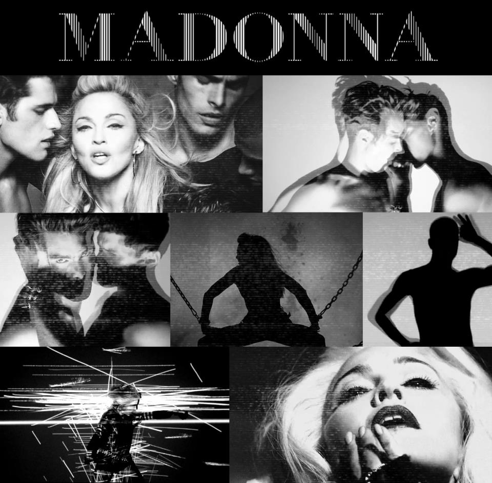 madonna girl gone wild video 1 Critique Du Billboard et Crédits de MDNA !