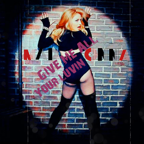 madonna give me all your luvin cover 38