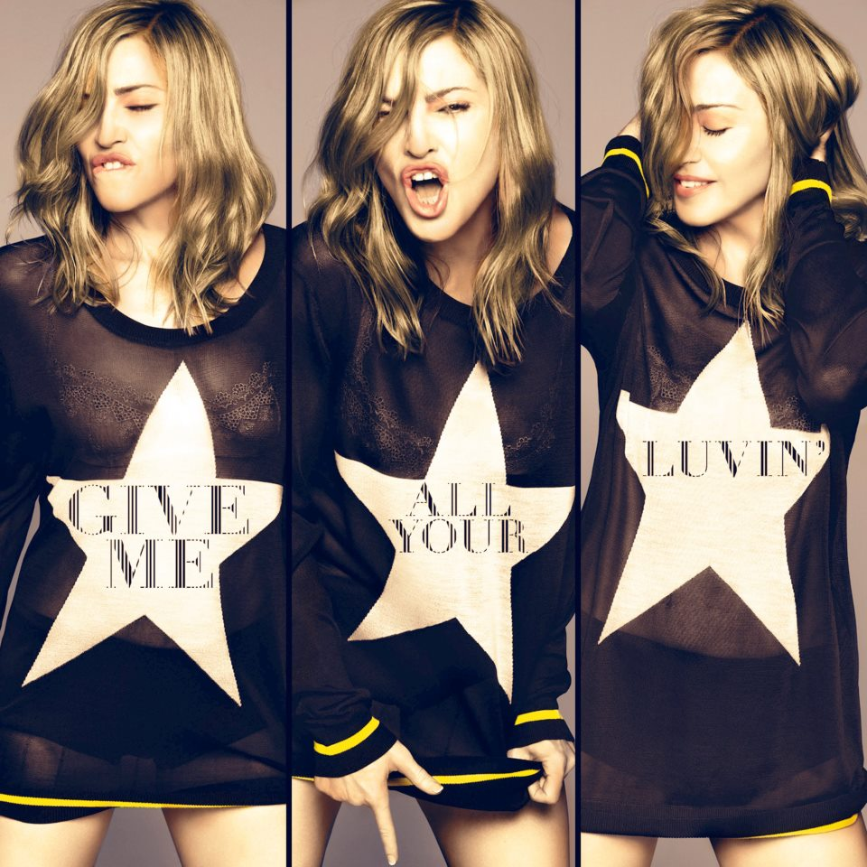 madonna give me all your luvin cover Charts : Give Me All Your Luvin Semaine 6 !