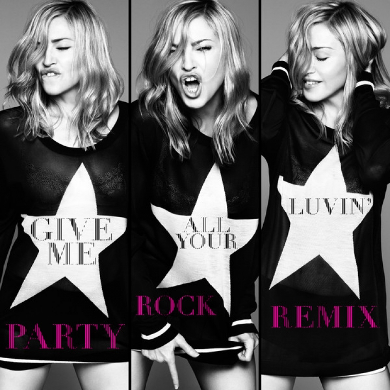 madonna give me all your luvin remix feat Lmfao MDNA : Différentes Versions & Tracklist !