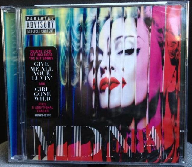 madonna mdna cd2 Cd, Vinyl MDNA & Livret ! Et Dautres News...