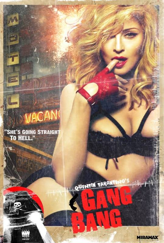 madonna gang bang cover 15 News : Gang Bang, Some Girls, William Orbit Réagit...