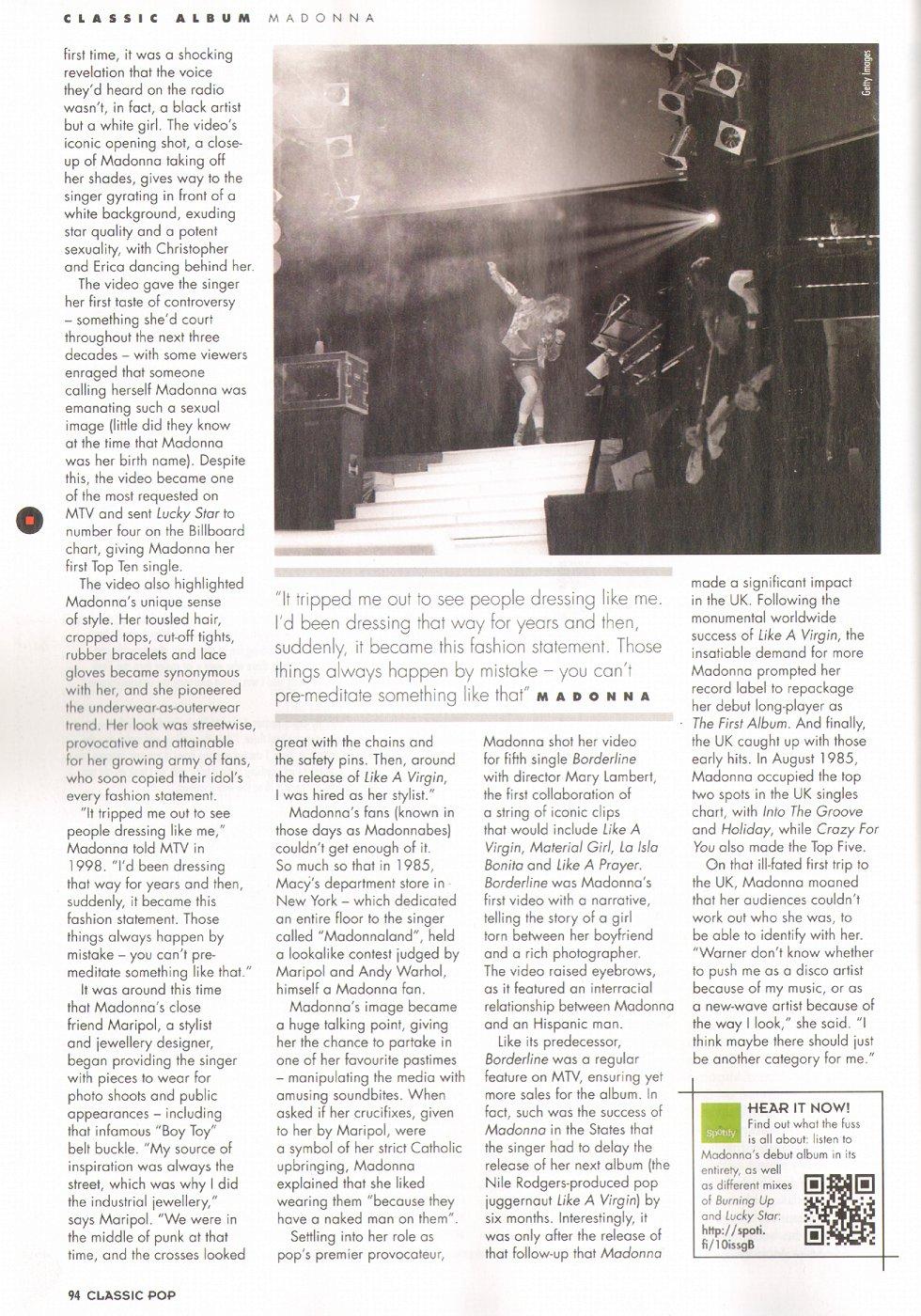 Madonna Presse - Classic Pop (Royaume-Uni 2013.01-02) 05