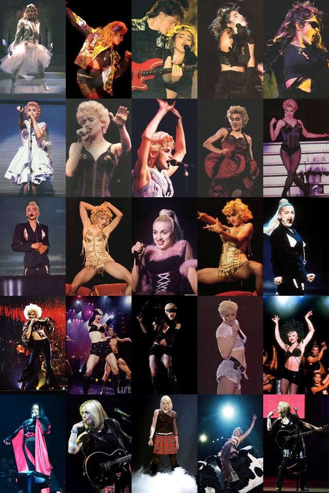 virgin tour to drowned world tour madonna
