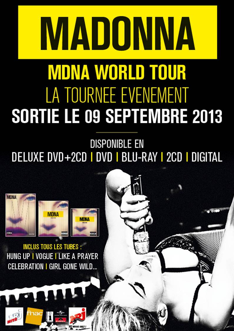 8o2d Teaser & Concours : Le MDNA World Tour en DVD !