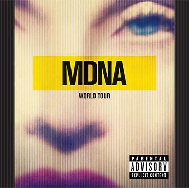 MADONNA MDNA WORLD TOUR 2CD FRONT