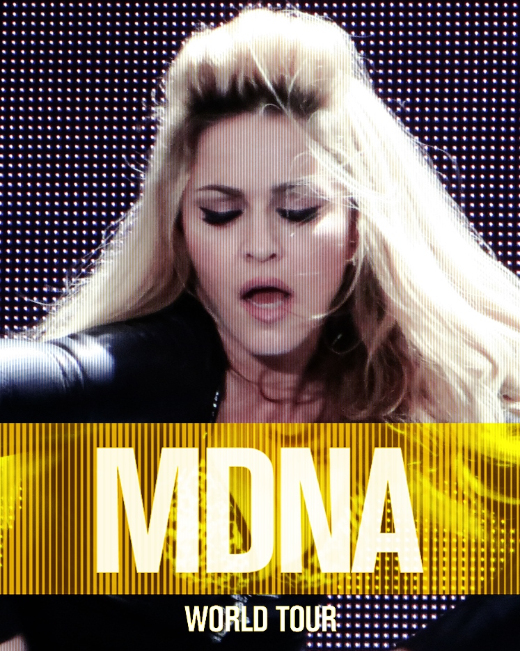 MDNA Tour by SweetMDNAcovers 1 2 Official : Vogue (MDNA World Tour) Single Promo !
