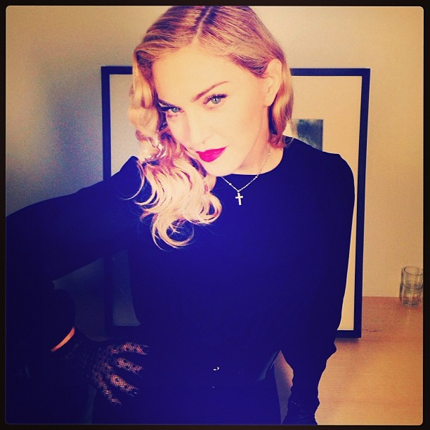 madonna instagram a big thank you to all my fans who showed up all around the world