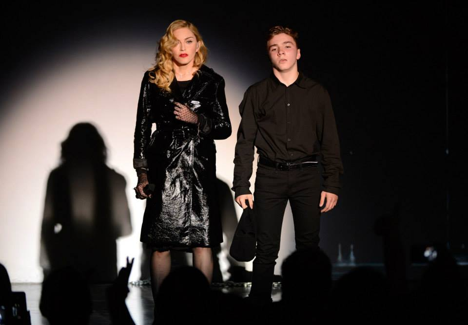 madonna kevin mazur secretprojectrevolution Launch New York September 24th 2013 05