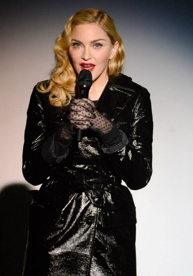 madonna kevin mazur secretprojectrevolution Launch New York September 24th 2013 06