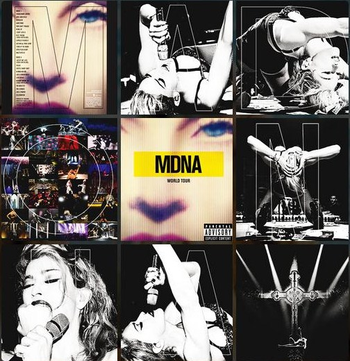 mdna tour booklet