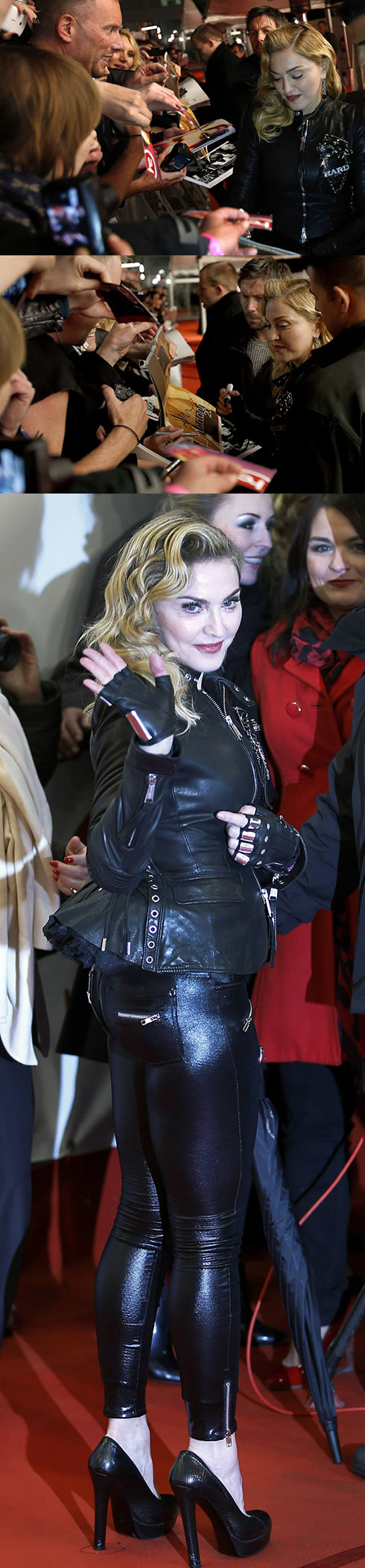 photos vid os madonna inaugure le hard candy fitness berlin. Black Bedroom Furniture Sets. Home Design Ideas