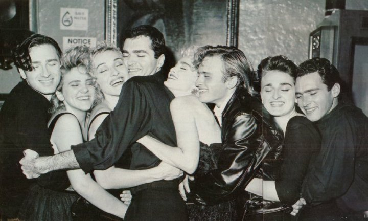 MADONNA AND 7 BROTHERS AND SISTERS