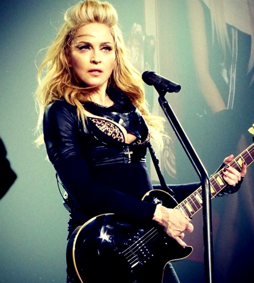 madonna 2012 coiffure MDNA TOUR I DONT GIVE A