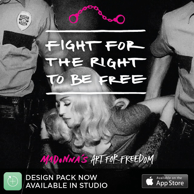 madonna studio app art for freedom pack 2