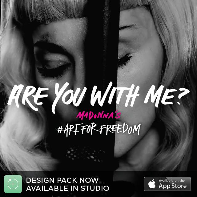 madonna studio app freedom pack