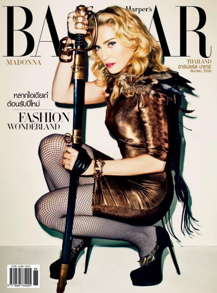 Madonna Presse - Harper's Bazaar (Thaïlande 2013.12)