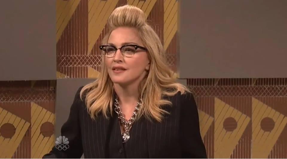 Photos & Vidéo : Madonna au SNL