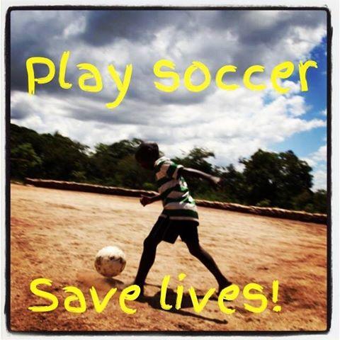 madonna instagram play soccer save lives