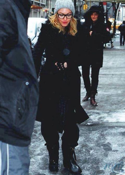 madonna new york 11.12.2013