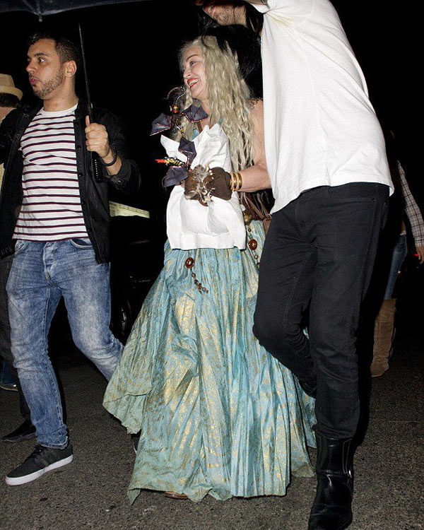 Madonna en Daenerys Targaryen de Game of Thrones Madonna en Daenerys Targaryen de Game of Thrones, vous aimez ?