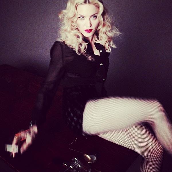 madonna glamour Madonna : Nouvel album déjà prêt selon vous ? La rumeur enfle...
