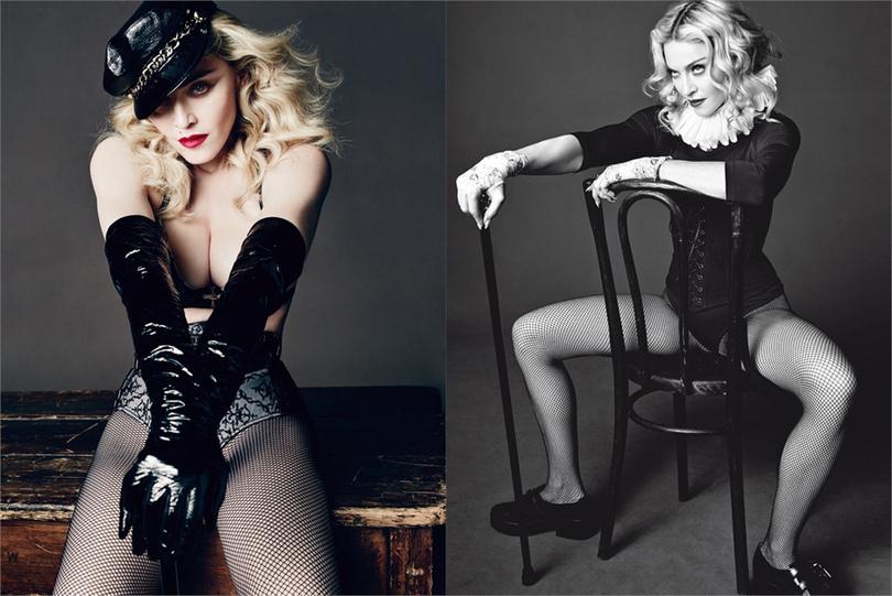 Madonna-en-sous-vetements-dans-le-Vogue-Homme-Italie